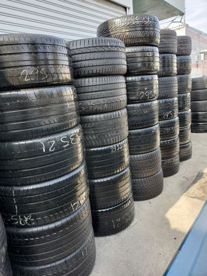 TIRES 295/35/21 TIRES 275/35/21 TIRES 265/35/21 TIRES 245/35/21 etc. for Sale in CORONA DL MAR, CA