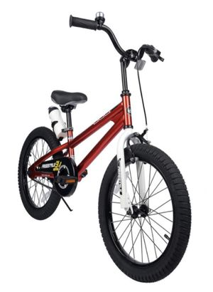 *NEW* RoyalBaby Kids Bike Boys Girls Freestyle Bicycle 18 inch with Kickstand Child's Bike *Red for Sale in Parma, OH