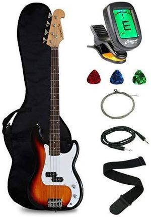 Crescent Electric Bass Guitar Starter Kit for Sale in Chapel Hill, NC
