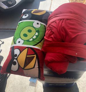 Kids camping sleeping bags and chair for Sale in Phoenix, AZ