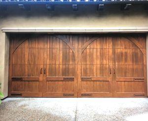 Wooden Sectional Garage Door for Sale in San Diego, CA