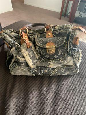 Louis Vuitton denim patchwork bag for Sale in Humble, TX