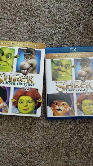 Shrek Complete Movie Collection for Sale in Garden Grove, CA