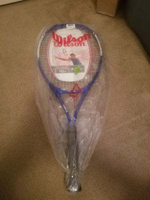 """Wilson fusion XL 112"""" squared tennis racket for Sale in Nashville, TN"""