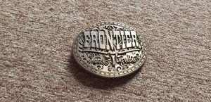 Vintage Frontier belt buckle for Sale in Elmhurst, IL