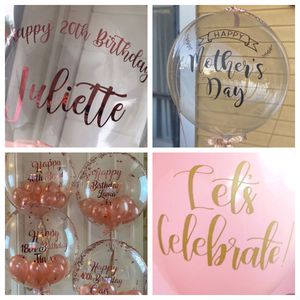 Custom vinyl BALLOON decals / stickers for Sale in Tustin, CA