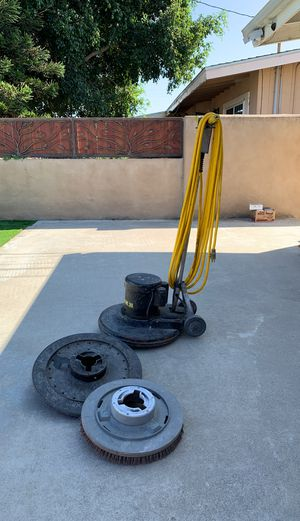 Used floor machine 20 inches works great! for Sale in San Diego, CA