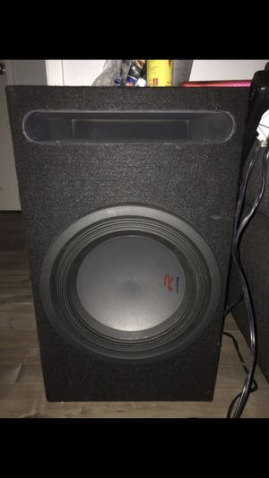 Alpine R-W12D2 with amps and audio controller for Sale in Phillips Ranch, CA