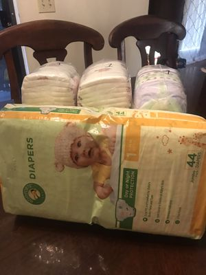 Baby diapers size -1 119 diapers $24 for Sale in El Cajon, CA