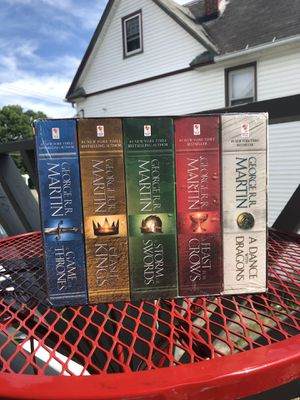 Game Of Thrones books for Sale in Waverly, NY