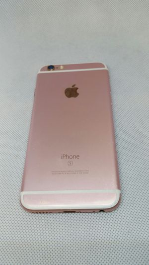 Iphone 6s rose gold 32 gb unlock for any carries around the world fully functional $219.99 price is firm pick up only for Sale in Phoenix, AZ