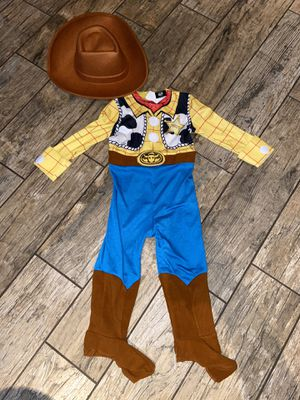 New kids Woody Sheriff dress up costume size 2T for Sale in Orange, CA