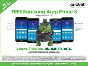 Free Samsung's at Cricket for Sale in Beaumont, TX