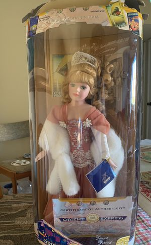 Genuine Porcelain Doll. Certificate of authenticity . Orient Express for Sale in Silver Spring, MD