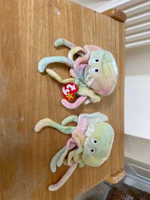 Goochy jellyfish beanie baby for Sale in Houston, TX