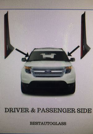 2011-2018 Ford Explorer Windshield Outer Trim Pillar Molding Passenger & Driver Side for Sale in Fairfax, VA