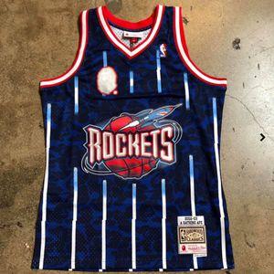 Houston Rockets Bape Jersey S-XXL for Sale in Houston, TX