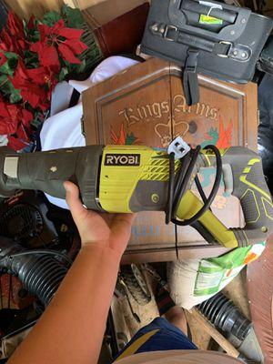 RYOBI 12 AMP CORDED RECIPOCATING SAW for Sale in Alexandria, VA