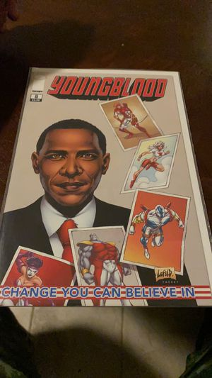 Youngblood 8 Obama guest stars inside book for Sale in Columbia, SC
