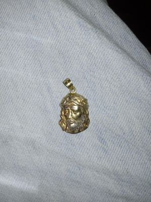 10k gold jesus peice for Sale in Tampa, FL