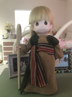 Precious moments Shepard of the hills rare doll for Sale in Winter Haven, FL