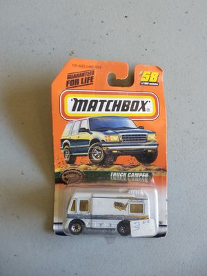Match Box number 58 of 100 vehicles the truck camper $4 for Sale in Pinellas Park, FL