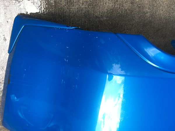 2009 - 2019 NISSAN 370Z REAR BUMPER COVER BLUE
