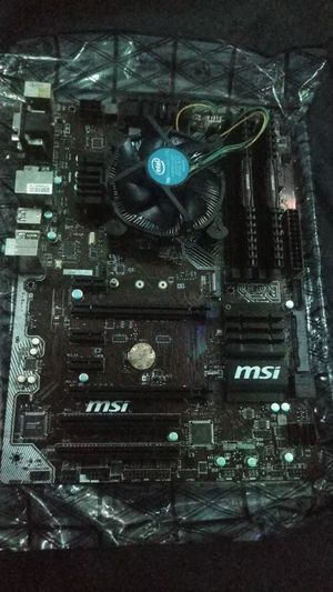 Motherboard/CPU/RAM combo for Sale in Portage, MI