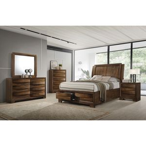 Brand New Hunter 4pc Bedroom Set by Scott Brothers for Sale in Garden City, NY