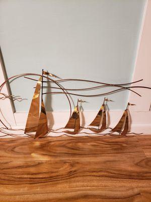 "Brass nautical wall decor, 42 x 16"" for Sale in Burbank, CA"