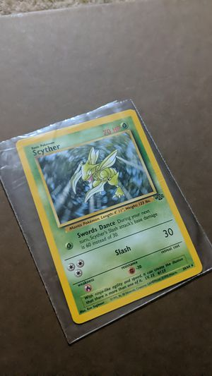 Scyther *RARE MINT POKEMON CARD FROM ORIGINAL JUNGLE COLLECTION for Sale in Phoenix, AZ