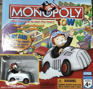 Monopoly Town board game for Sale in Cupertino, CA