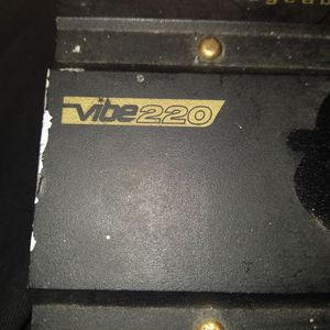 Vibe 220 Bridgeable 2 Chanel Amplifier for Sale in Dallas, TX