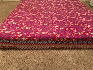 Queen bedsheet with 2 pillow covers size 26(W)*16(H) for Sale in Tempe, AZ