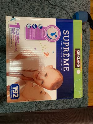 Brand New Walmart 192 Diapers ! for Sale in Brooklyn, NY