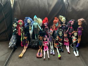 Monster High doll collection for Sale in Fontana, CA