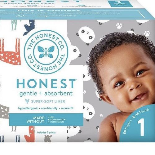 Honest Company Gentle And Absorbent Size 1 Diapers 80ct