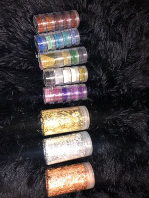 Glitter/Flakes/Nail Art/Resin/Crafting for Sale in Grand Prairie, TX