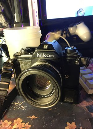 Nikon EM + 50mm + motor drive for Sale in Sacramento, CA