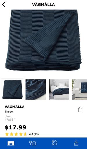 Brand New Ikea Throw Blanket for Sale in Federal Way, WA