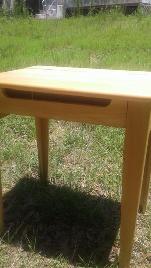 Small Wooden Desk with inside compartment for Sale in Longwood, FL