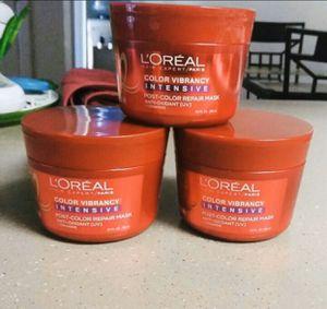 3 L'Oréal hair color repair for Sale in Glendale, AZ