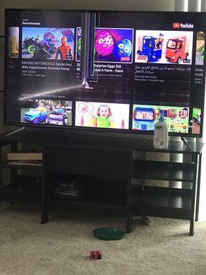 Tcl 55 inch tv -crack in screen for Sale in Bellevue, WA