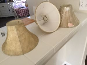 3 lamp shades for Sale in Bakersfield, CA
