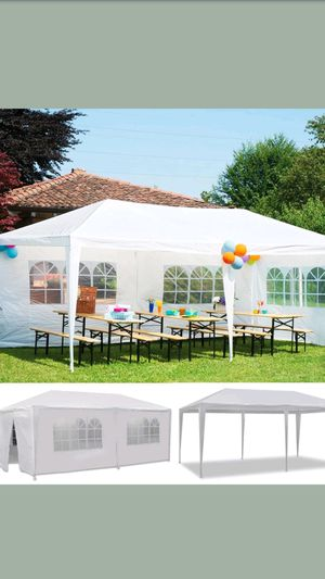 BRAND NEW CANAPI TENT 10X20 COMES WITH 6 REMOVABLE WALL for Sale in Los Angeles, CA
