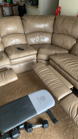 Leather couches for Sale in Marshalltown, IA