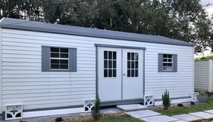 New Superior Shed 12'x24' , garage door 6 ft rollup, double doors & windows for Sale in South Miami, FL