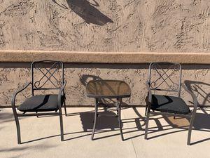 3 piece patio set - courtyard set for Sale in Phoenix, AZ