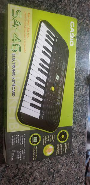 Casio SA-46 32-Key Mini Keyboard for Sale in Saginaw, TX