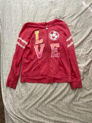 Justice love soccer girls 16 sweatshirt for Sale in Las Vegas, NV